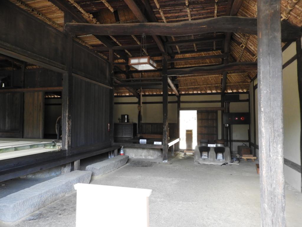 高麗神社の神職を代々努めてきた高麗氏の住宅