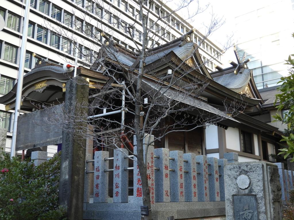 御穂鹿嶋神社の境内