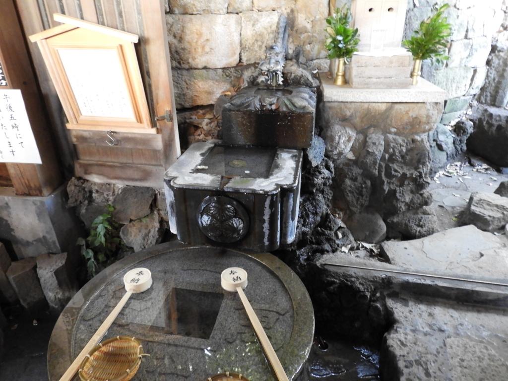 地の恵みの霊とご神水を祀る阿那稲荷神社下社