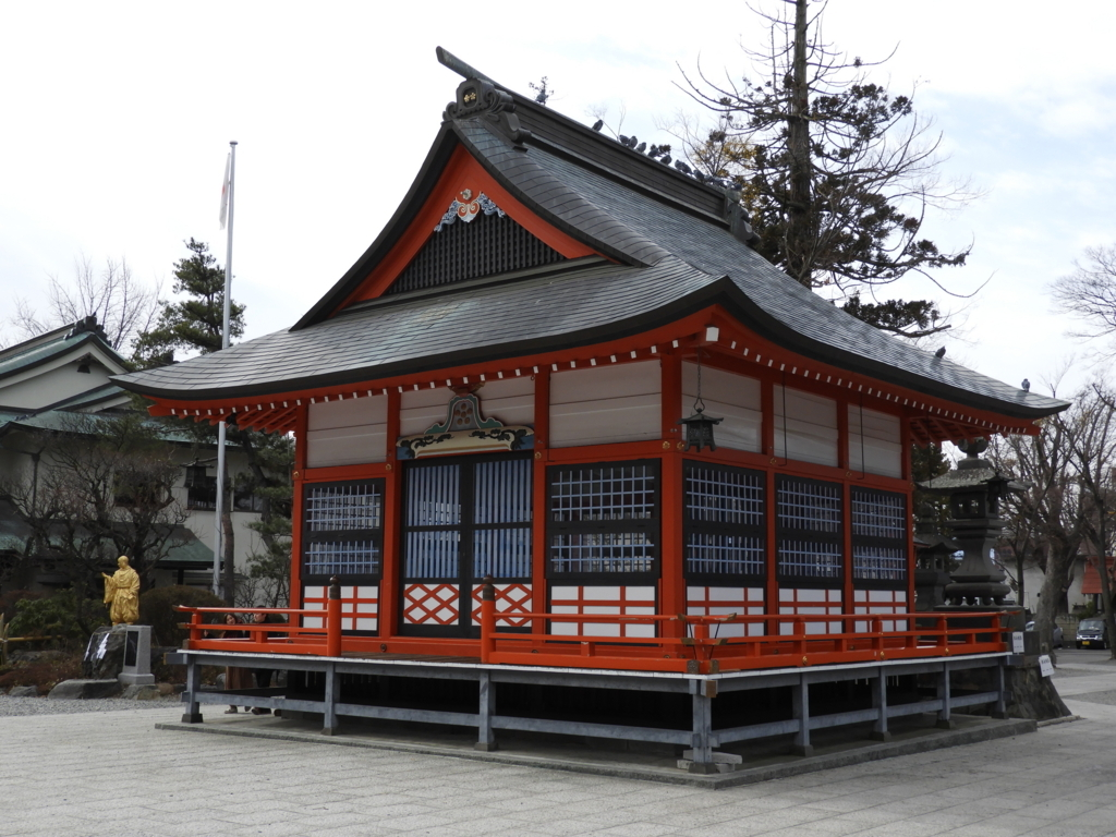 深志神社の神楽殿