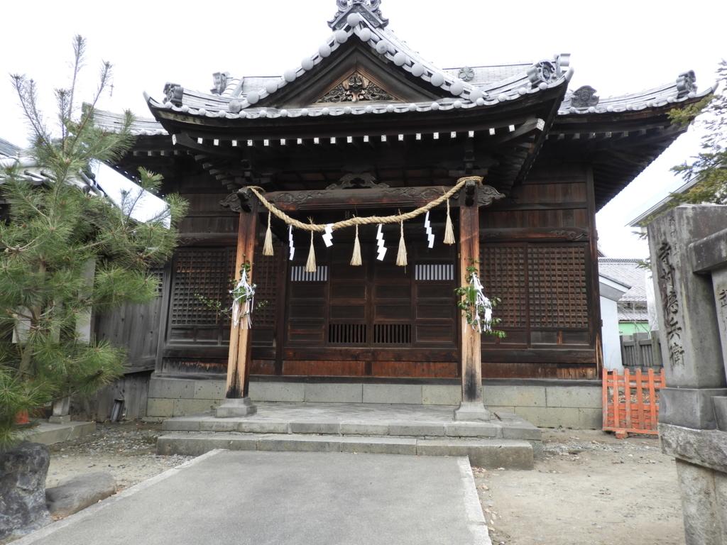 深志神社の境内社の恵比寿殿