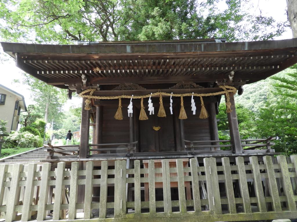 即位した大祝が姿を現す場所の諏訪大社上社前宮の内御玉殿