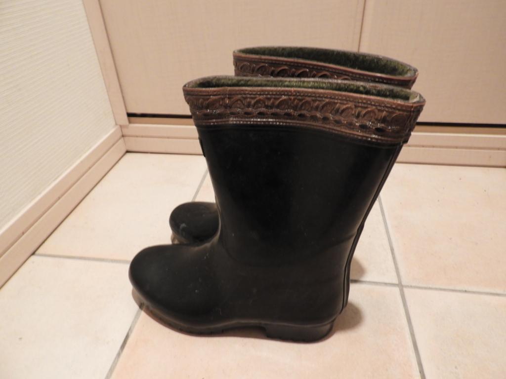 真冬の戸隠五社を踏破するため使用した長靴