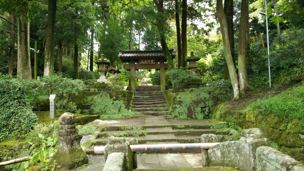 非日常の入り口である浄智寺の惣門