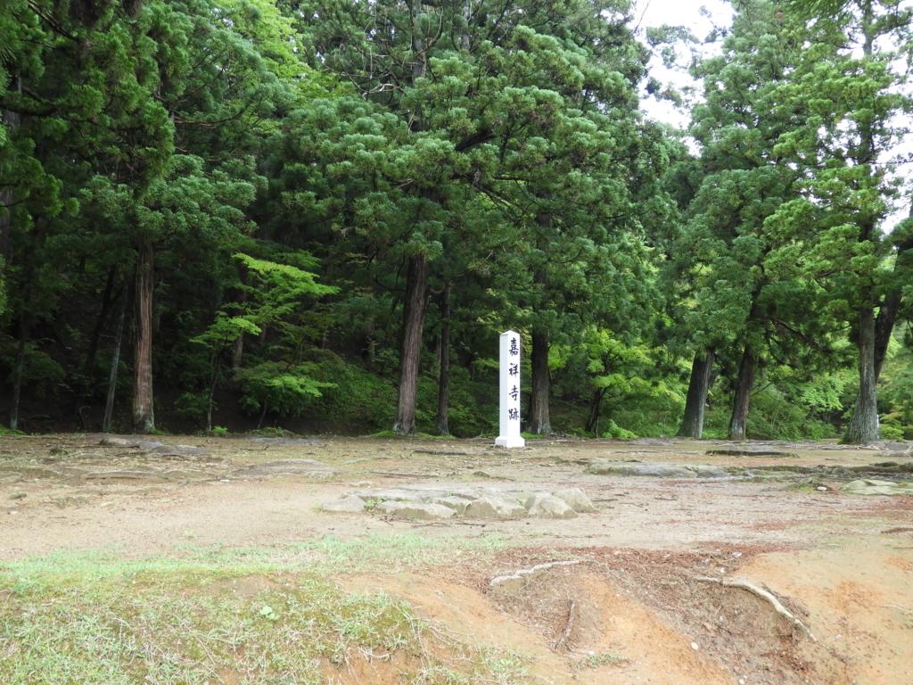 保存状態はきわめて良好な毛越寺境内の遺跡