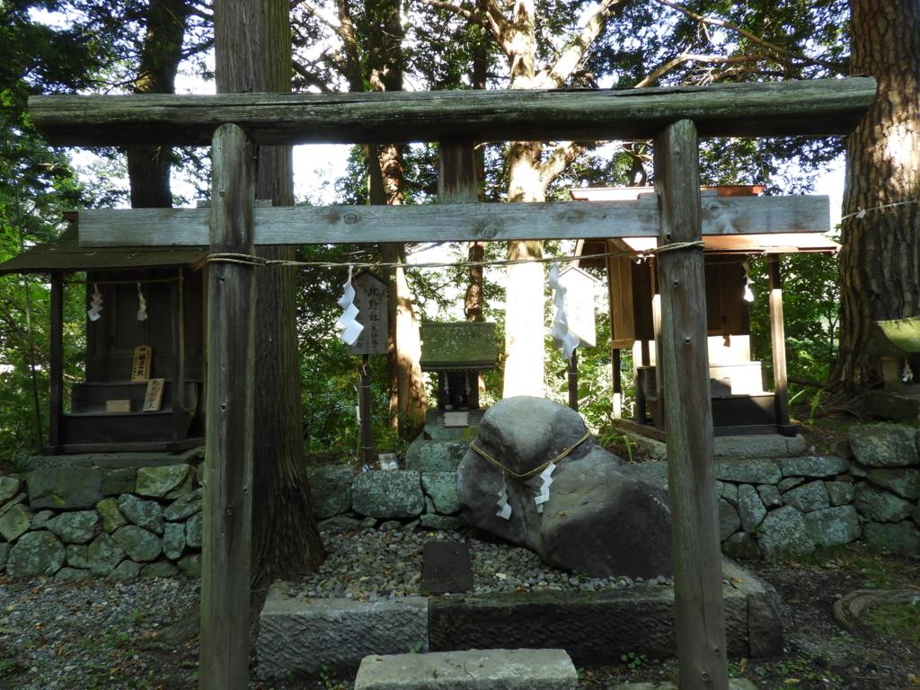 山家神社境内社の北野社