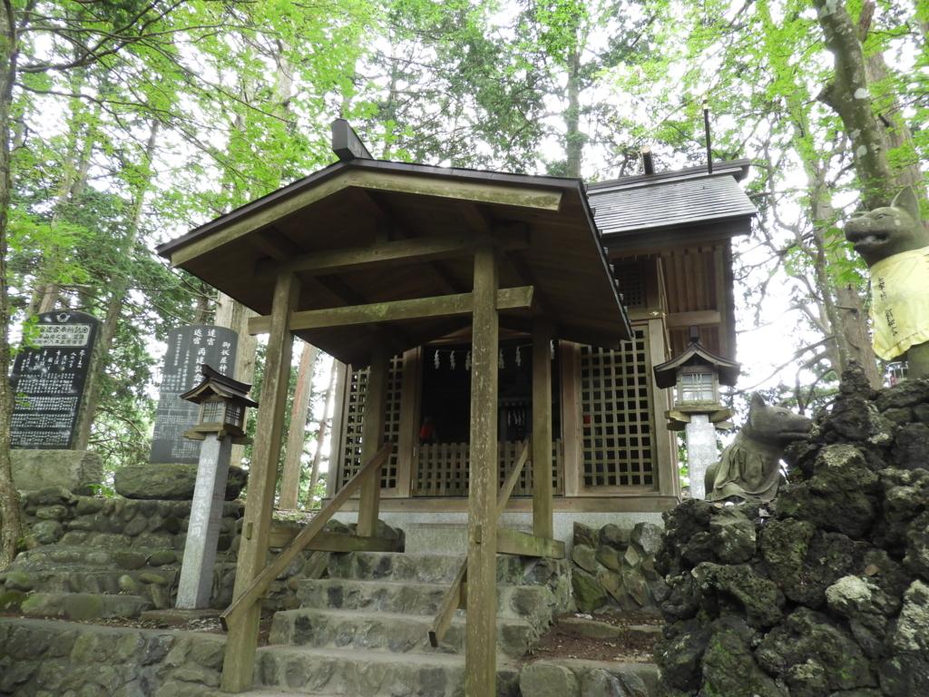 三峯神社の大口真神のお宮