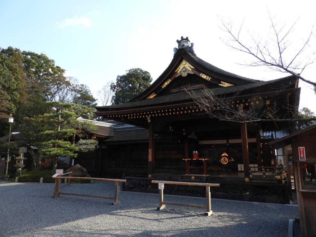 伏見稲荷大社の神楽殿