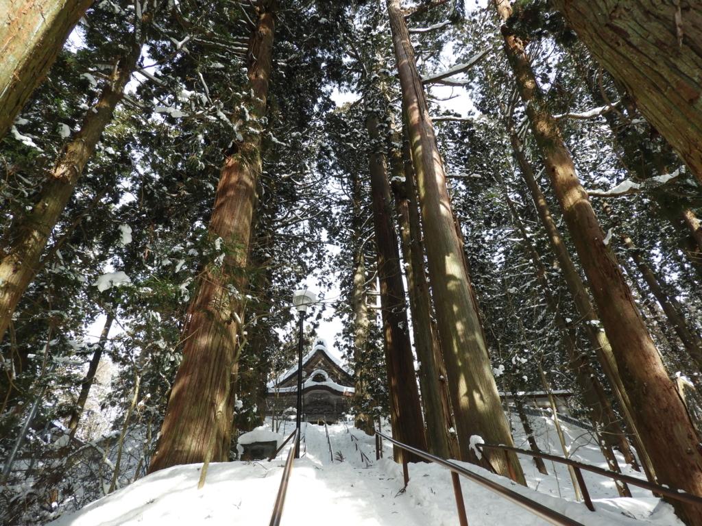 真冬の戸隠神社で見たかった光景