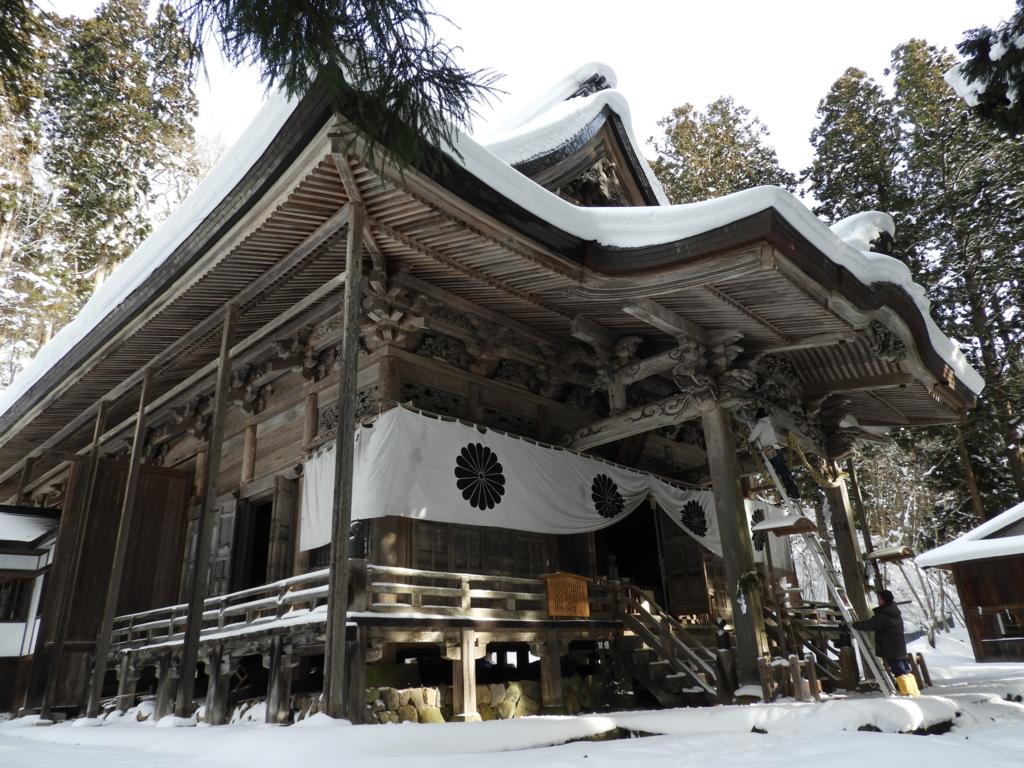 神々しさが5割増しになった戸隠神社宝光社の社殿