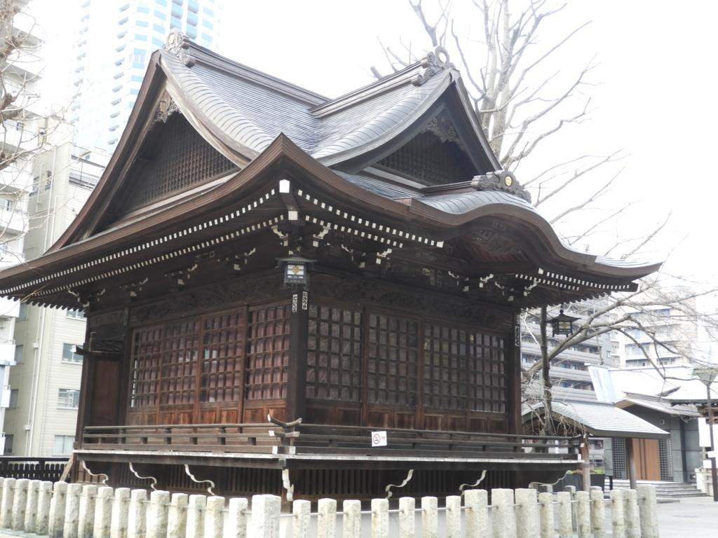熊野神社の神楽殿