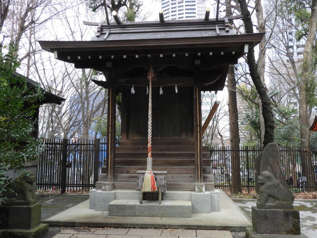熊野神社の境内社である大鳥神社