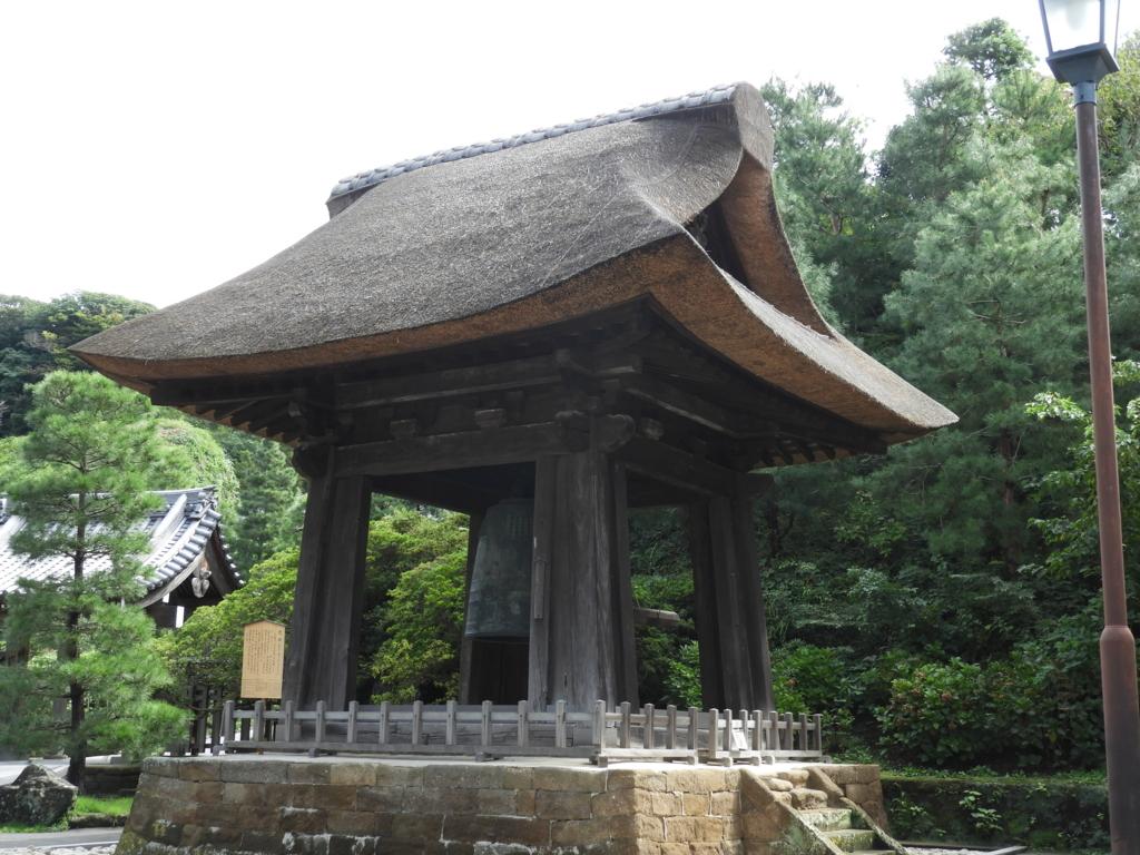創建時の姿を現在まで保つ貴重な存在である建長寺の国宝・梵鐘