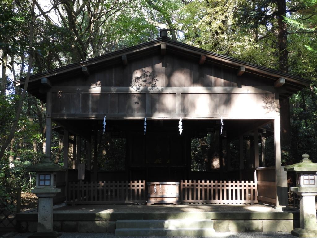 祖先の霊がお祀りされている鶴岡八幡宮の祖霊社