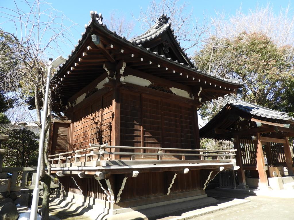 牛嶋神社の神楽殿