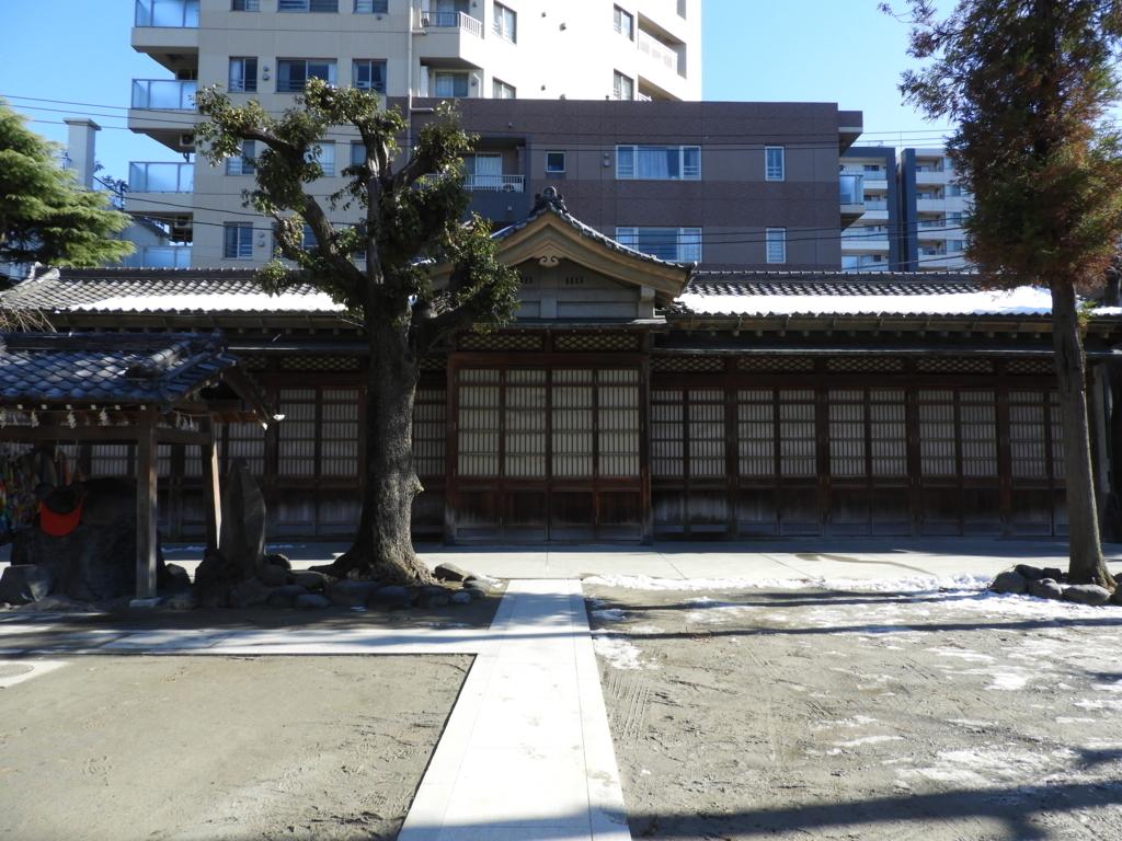 牛嶋神社の神輿庫
