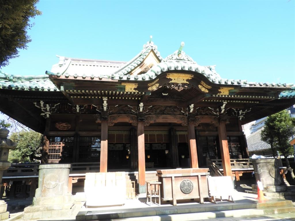 牛嶋神社の拝殿