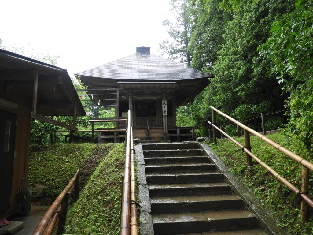 中尊寺大日堂のお堂