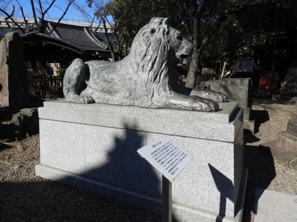 三越の象徴であるライオン像