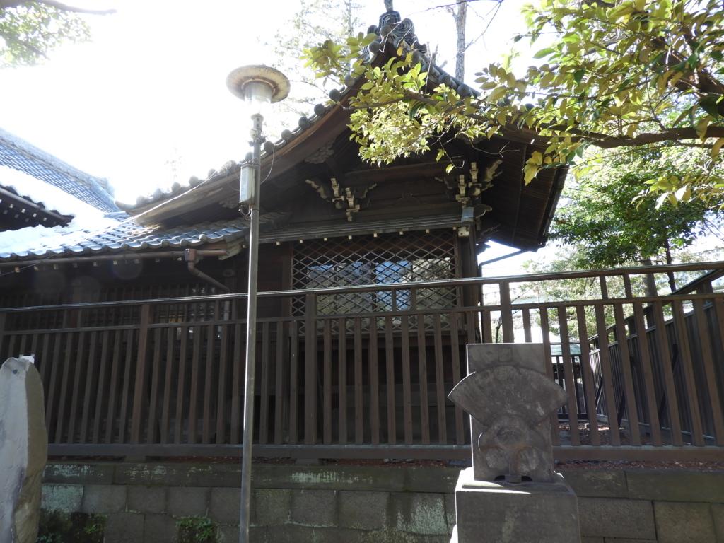 三囲神社の本殿