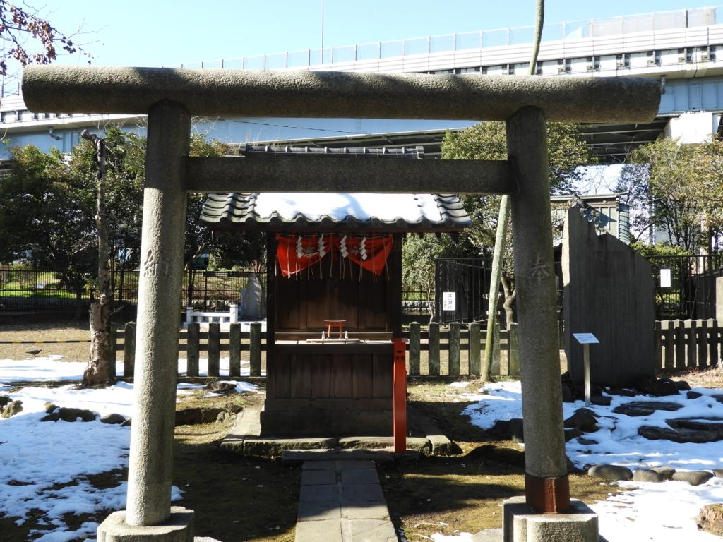 三囲神社の境内社である富士見稲荷