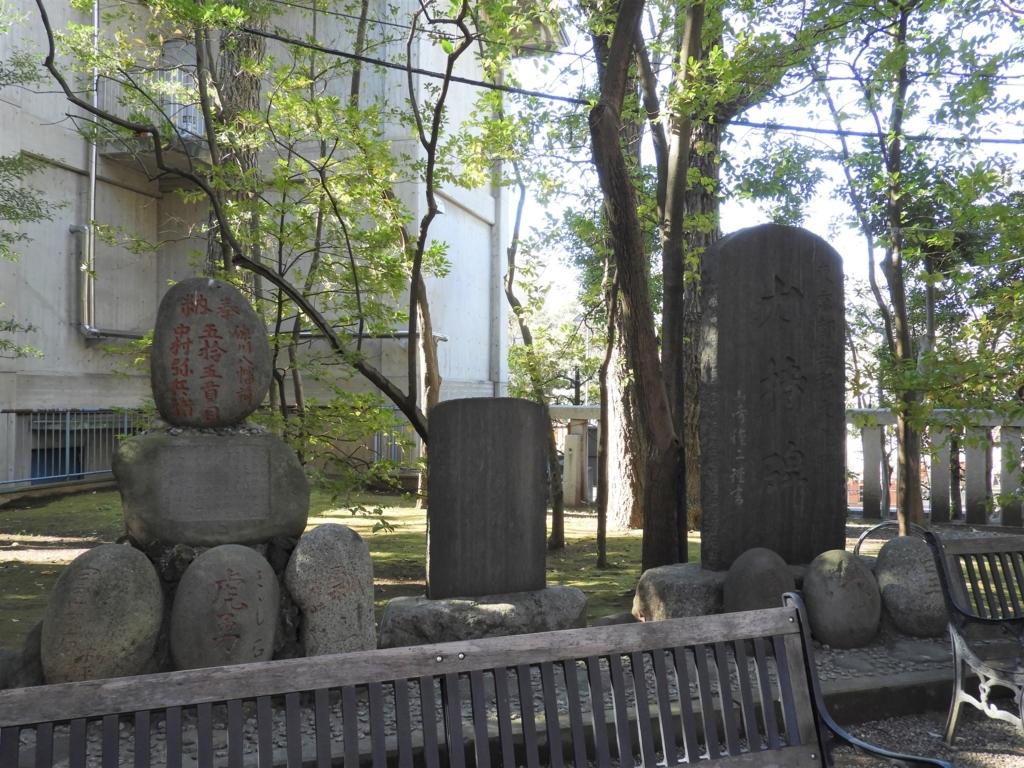 富岡八幡宮の力持ち碑