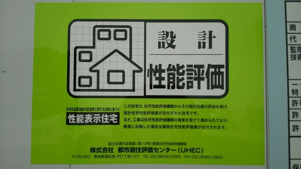 品確法に基づいて登場した住宅性能評価書