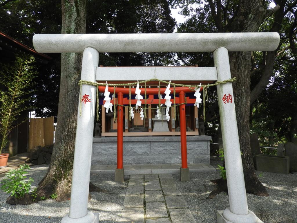 小御岳神社・稲荷神社・三峯神社・阿夫利神社の四社