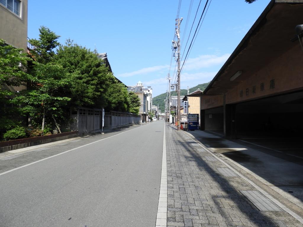 二見浦・夫婦岩表参道の歴史のある街並み