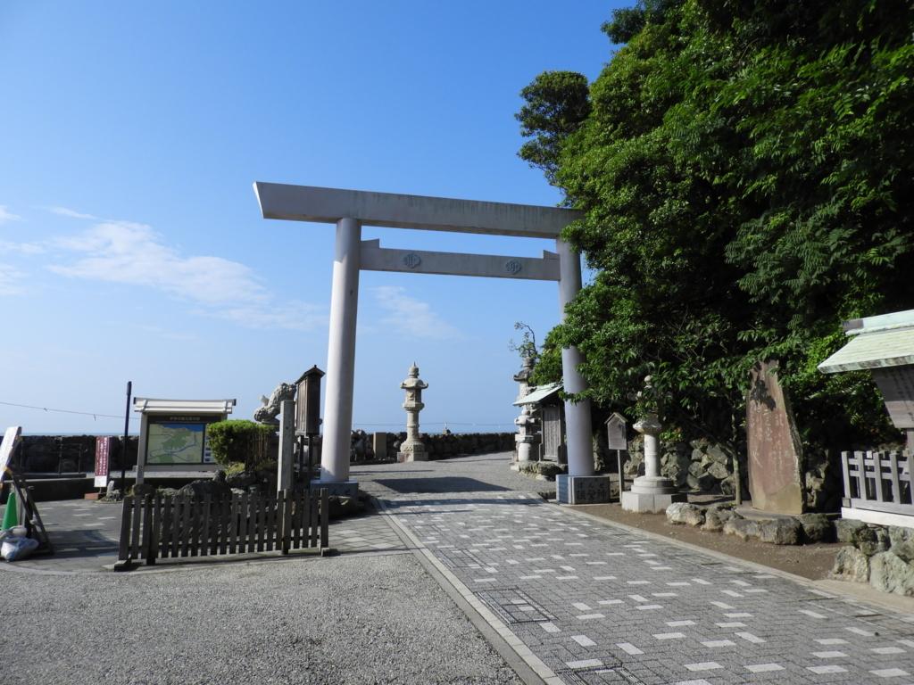 二見興玉神社の大鳥居