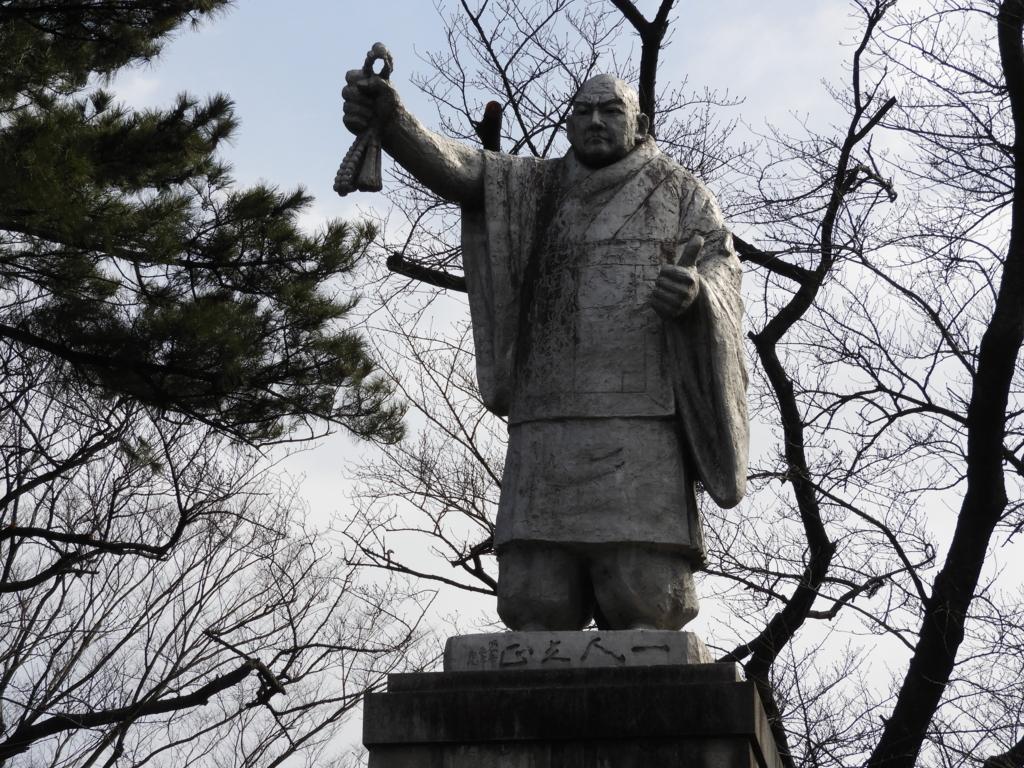 池上本門寺の日蓮像