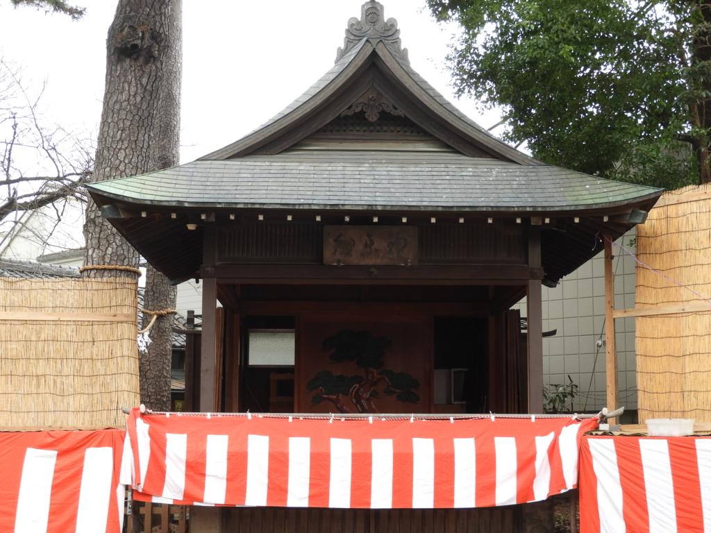 御嶽神社の神楽殿
