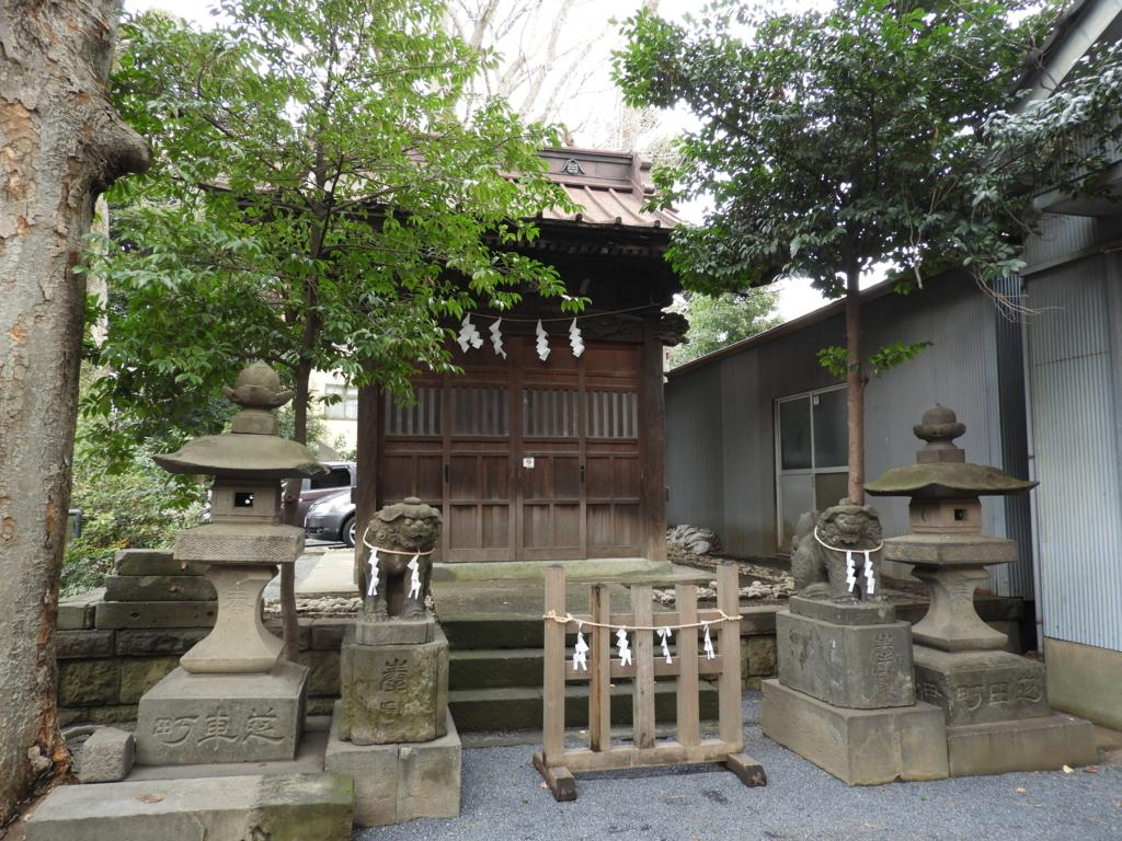 御嶽神社の境内社である大鳥神社