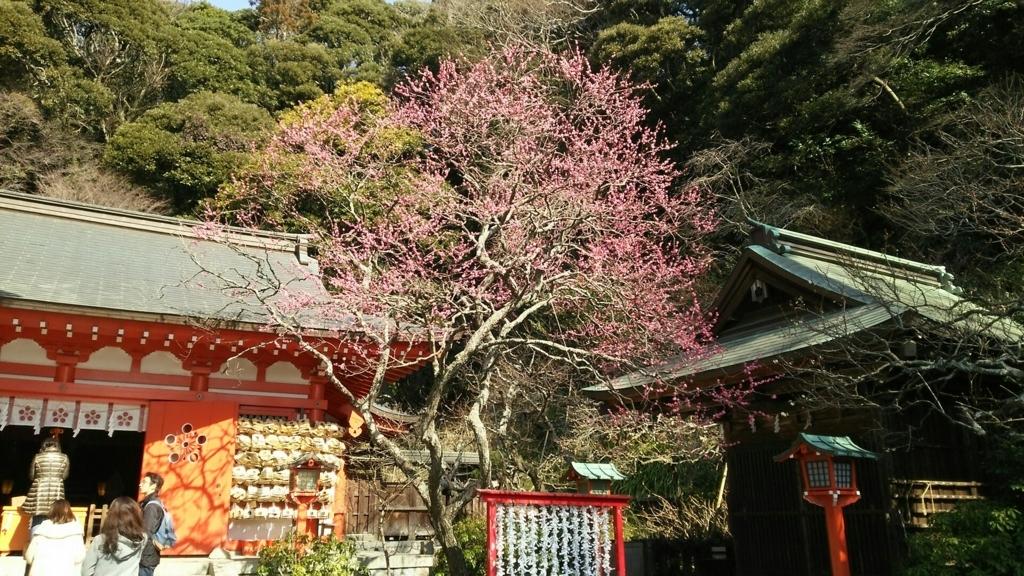 荏柄天神社の境内