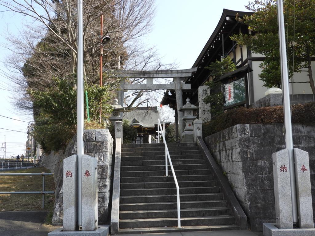 熊野神社の大鳥居