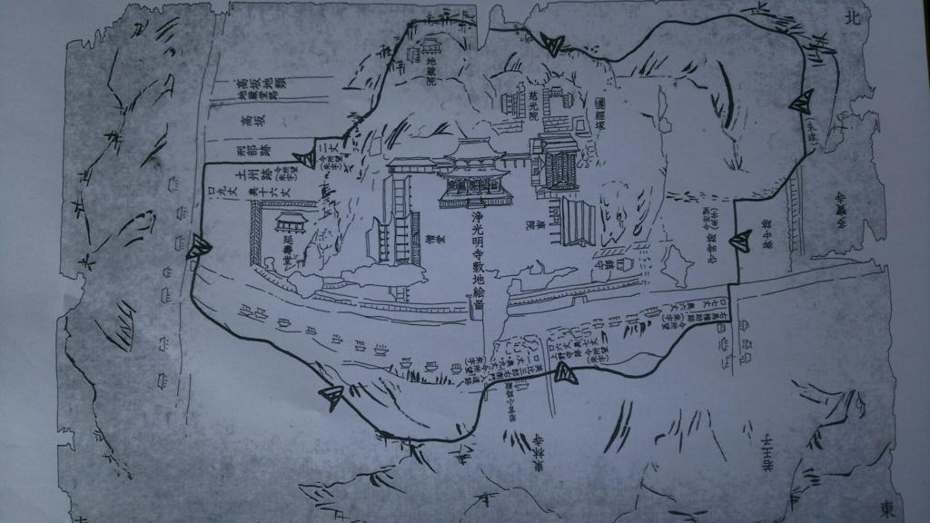 浄光明寺敷地絵図