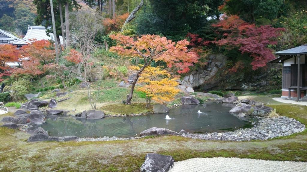円覚寺方丈庭園と紅葉