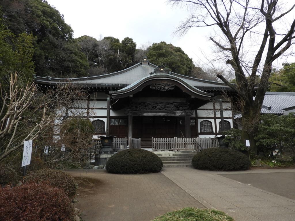 武蔵国分寺の本堂