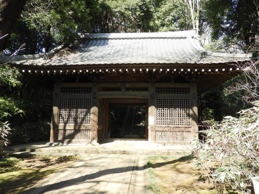 武蔵国分寺の仁王門