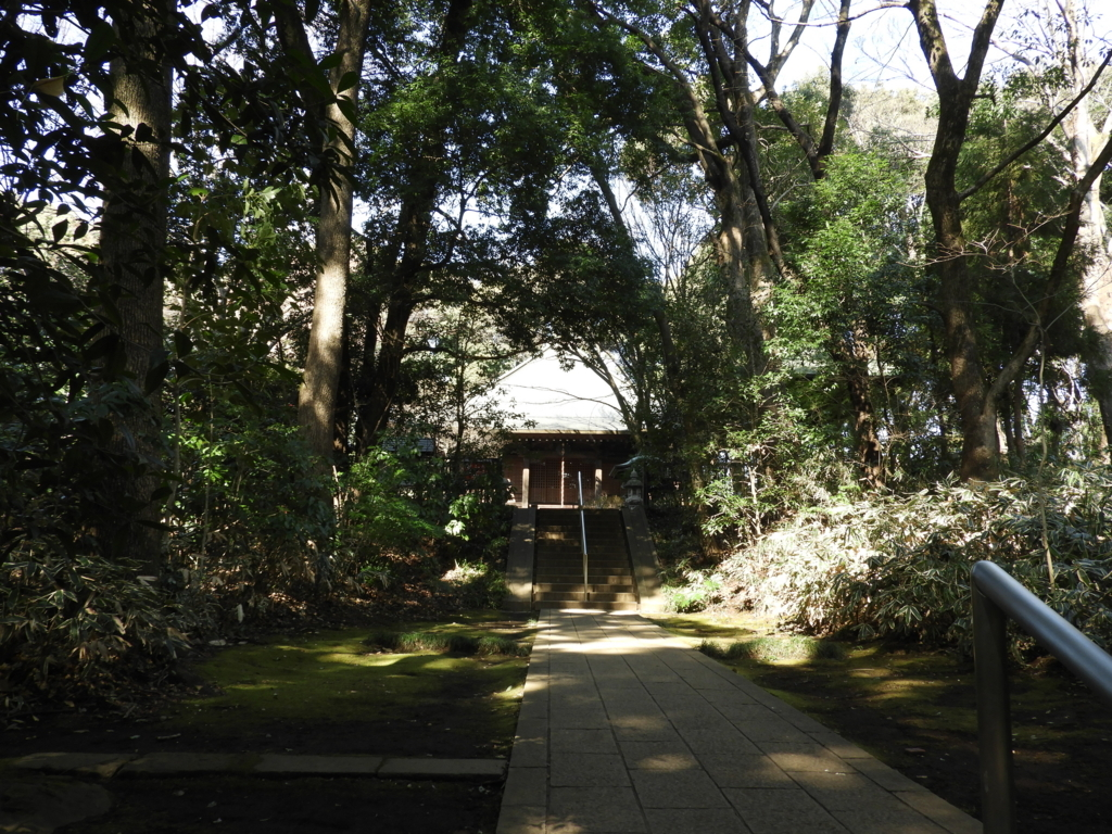 武蔵国分寺の参道