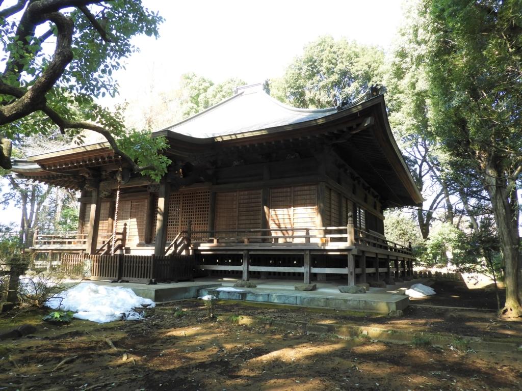 武蔵国分寺の薬師堂