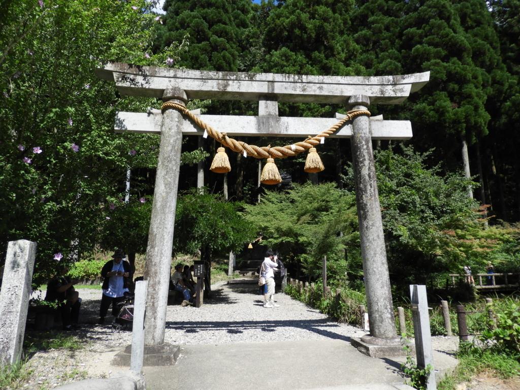 根道神社の大鳥居