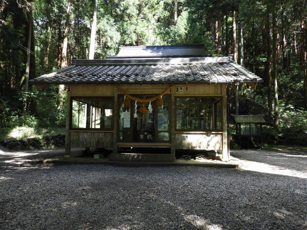 根道神社の本殿