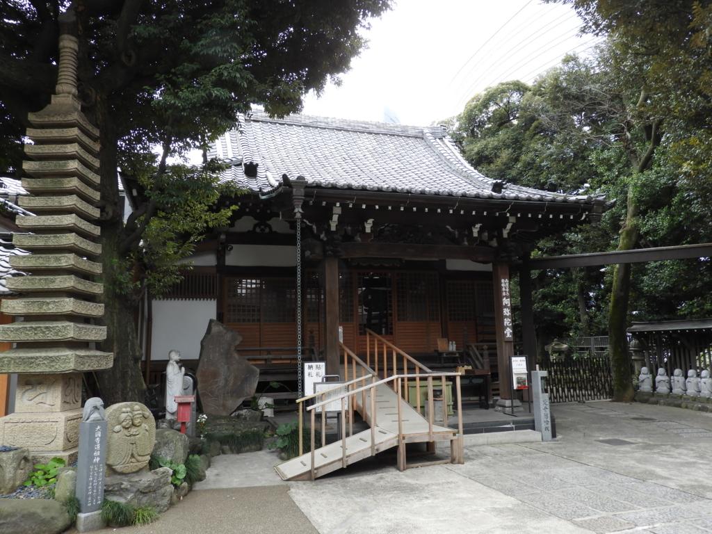 大円寺の阿弥陀堂