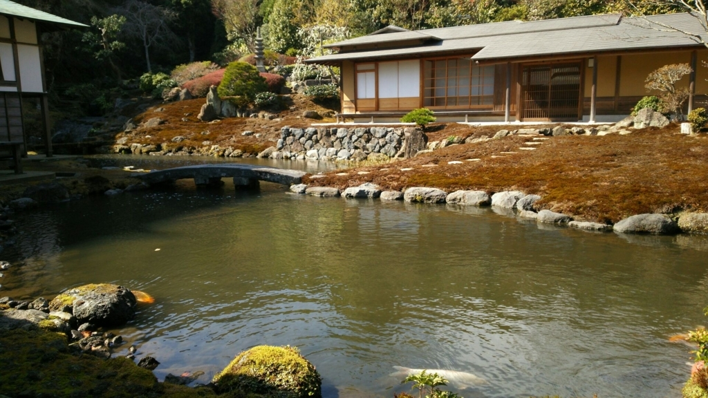一年に一度、1時間半だけ公開される海蔵寺庭園