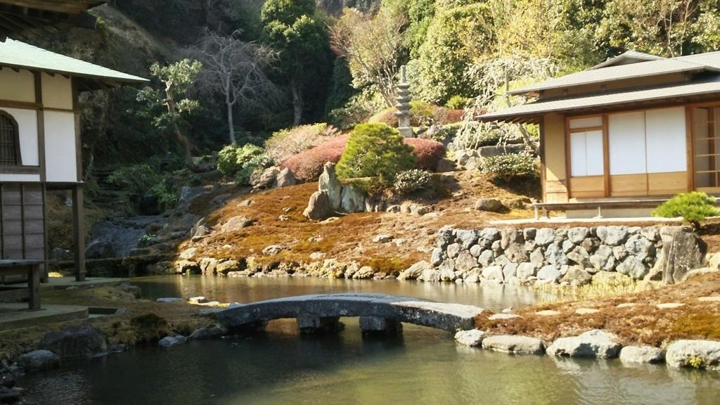 海蔵寺庭園の普段見えない部分