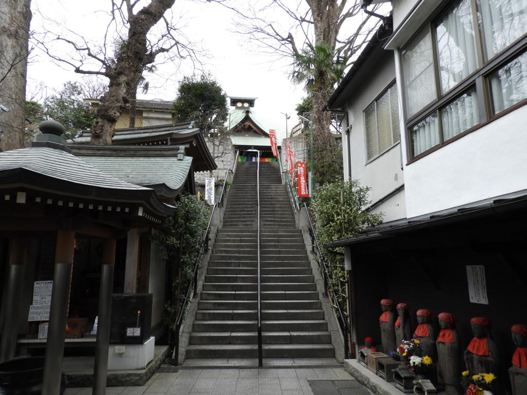 弘明寺の石段