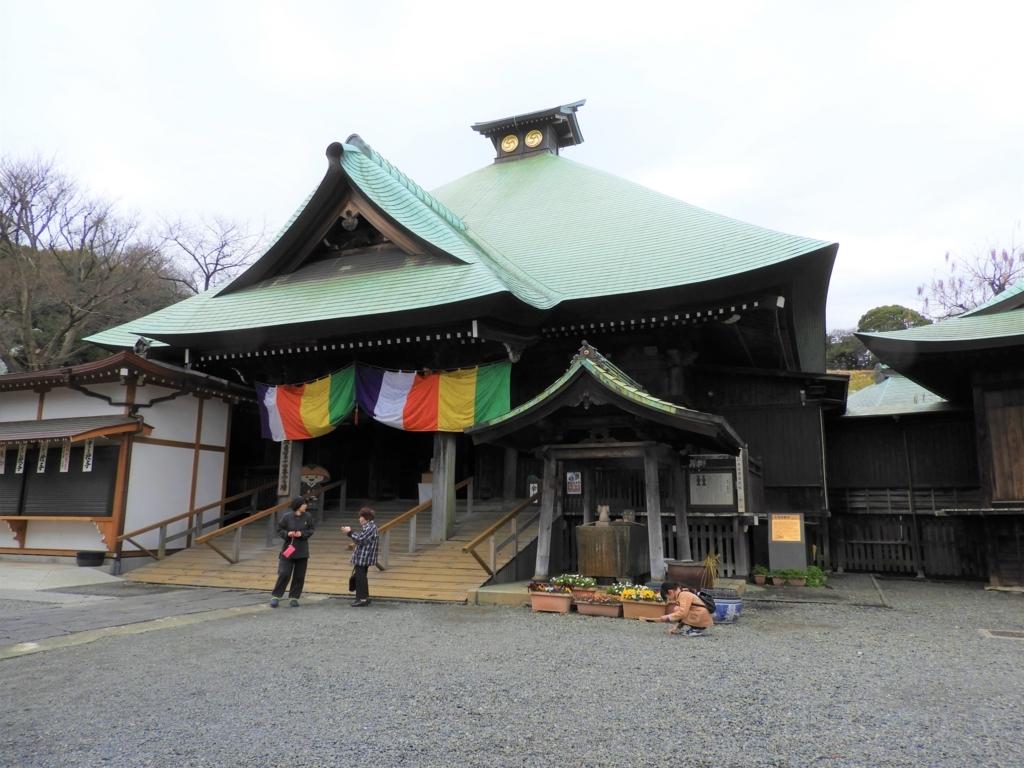 弘明寺の本堂