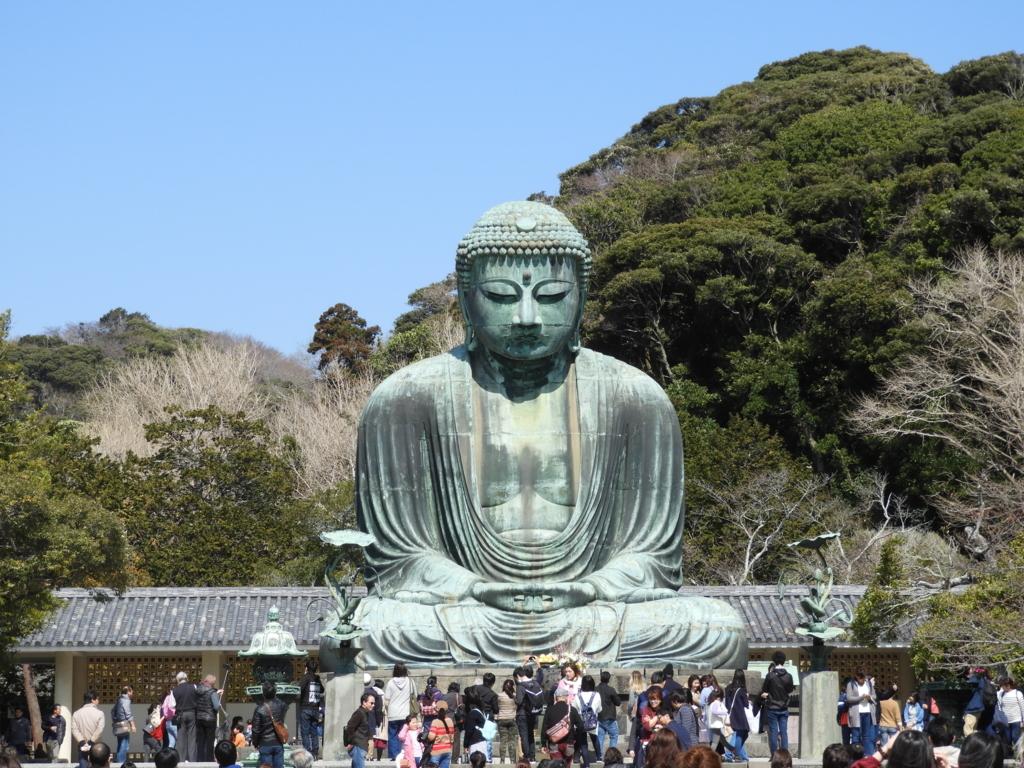 鎌倉大仏の全景