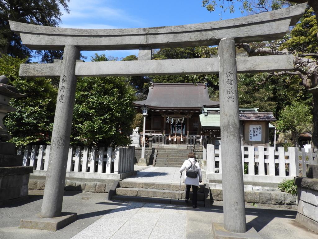 瀬戸神社の大鳥居
